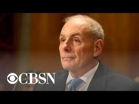 "John Kelly reveals details about ""bone-crushing"" chief of staff job"