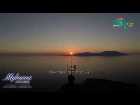 Mykonos, Greece: Best Places in Mykonos Aerial Video (Drone)