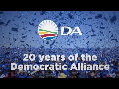 Celebrating 20 years of the Democratic Alliance