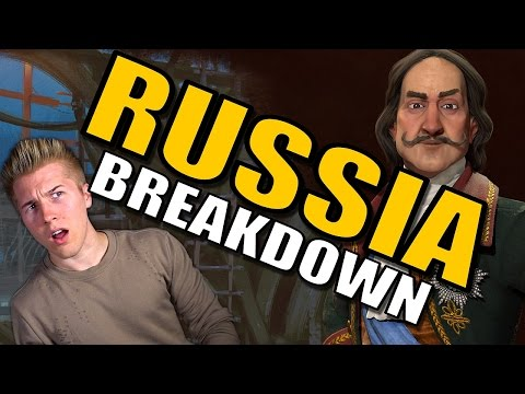 Civilization 6: Gameplay - Russia [Leader Tips & Strategy Breakdown]