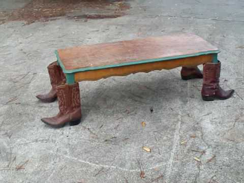 RED NECK COFFEE TABLE 1 YouTube