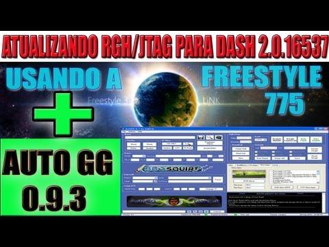 ATUALIZANDO( RGH/JTAG) PARA DASH-16537 COM AUTOGG 0.9.3 PELA FREESTYLE