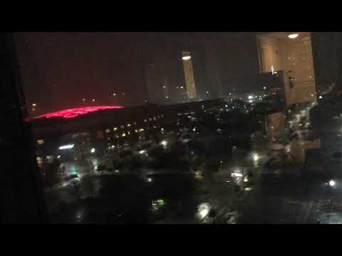 Hurricane Harvey Houston Toyota center