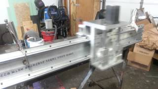 Plasma/router Table Y Axis  Test