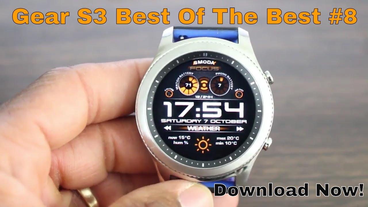 Best Gear S3 Watch Faces 2020 Top 5 Galaxy Watch/ Gear S3/Gear Sport Digital Watch Face Best Of