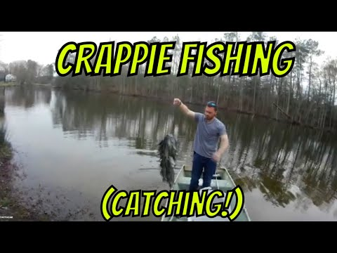 Crappie Fishing (Small Lake) With Evan Spring 2020