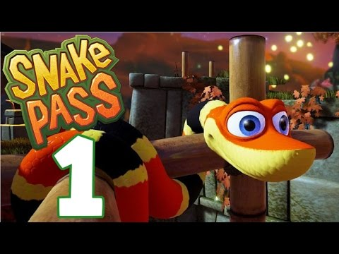 Going For The Gold! (Levels 1-3) - Let's Play Snake Pass Gameplay - Part 1