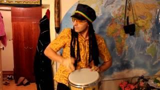 Мастер класс по игре на барабане от Джамбе Шахама Darbuka