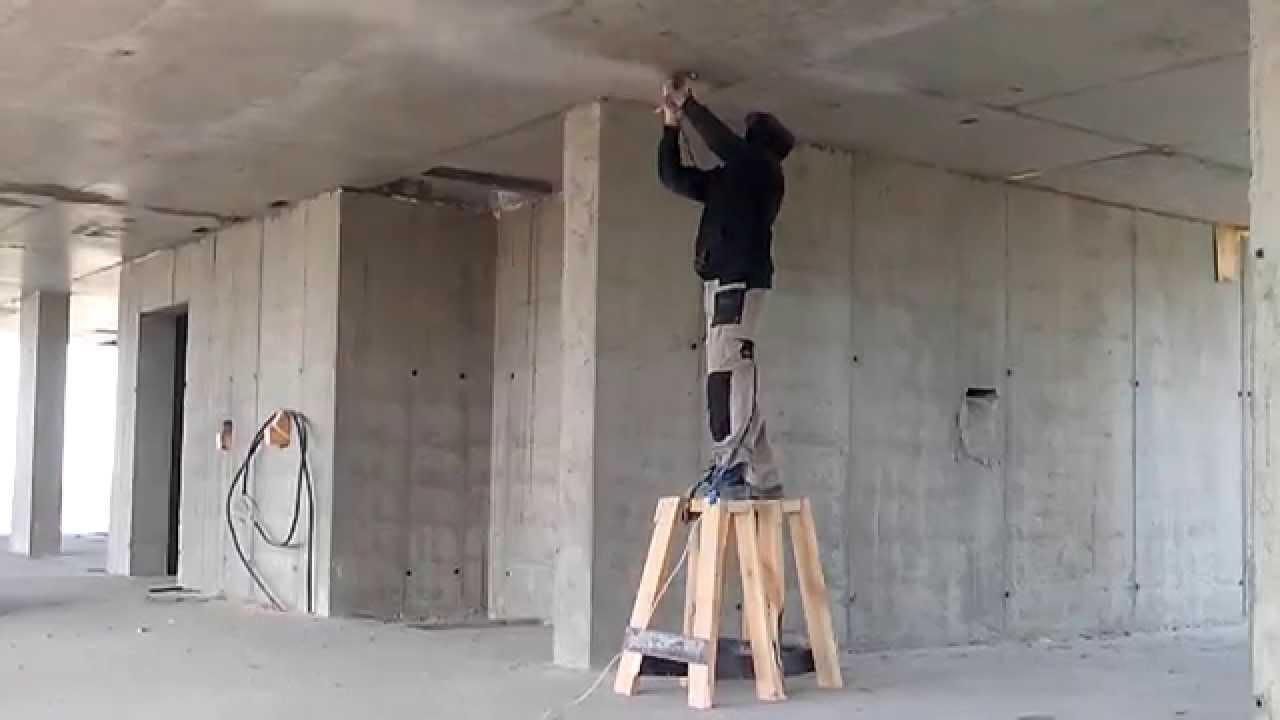 Шлифовка бетона стен оборудование для бетона