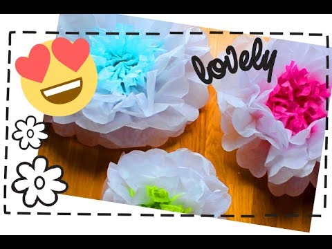 Diy how to make giant tissue paper flowers youtube iltribuno diy how to make giant tissue paper flowers youtube mightylinksfo