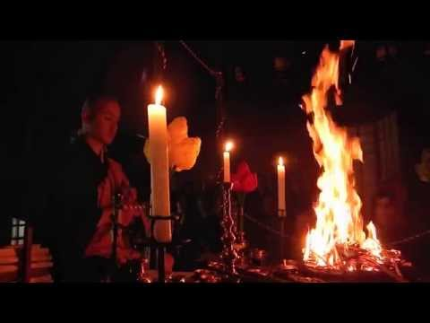 Shingon Buddhist Fire Ritual- Mount Koya, Japan (complete ceremony)