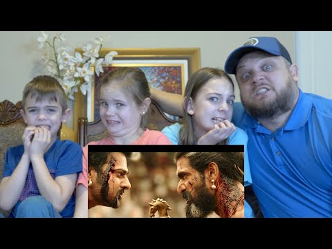 BAAHUBALI 2 TRAILER | AMERICAN FAMILY REACTION