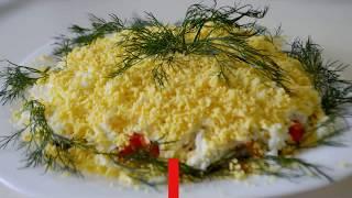 САЛАТ МУЖСКОЙ КАПРИЗ Праздничный салат Мясной салат Простые рецепты Салат для мужа Новогодний салат