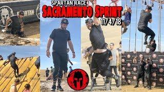 Spartan Race 2018 - Sacramento Sprint - Sacramento, CA - 11/4/18 (GoPro Video)