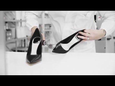 Как изготавливают брендовые туфли-лодочки
