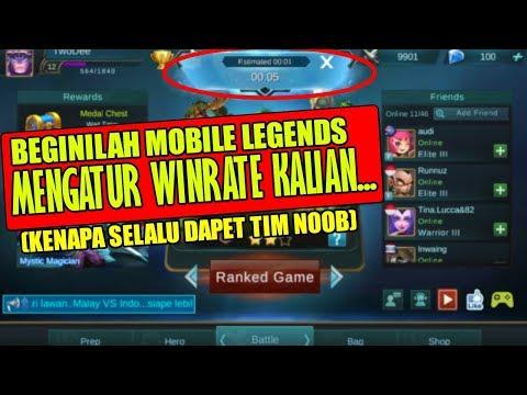 TERBONGKAR!! INI ALASAN KENAPA BARU MENANG SEKALI , KALAHNYA BERKALI KALI | Mobile Legends
