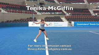 Tenika McGiffin - 2017 US College Tennis Prospect