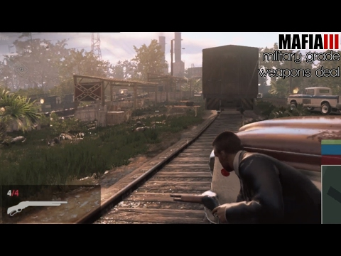 Mafia 3 | Guns: Military Grade Weapons Deal [E50]