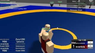 Roblox olympics #1 - Wrestling