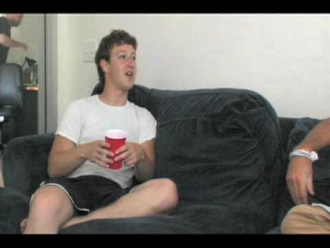 "An early days interview with Mark Zuckerberg. You'll never see footage of him like this a lot. And there was a keg stand in the middle of the office!!!! He refers to thefacebook.com as an ""online directory of people"" where you can look up anyone and find ""what you care about."""