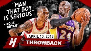 Download The Game Rookie Damian Lillard SHOCKED Kobe Bryant 2013.04.10 - EPIC Duel Highlights! Mp3 and Videos
