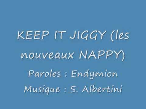 keep it jiggy NAPPY poster