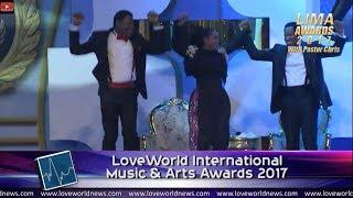 LIMA Awards with Pastor Chris Oyakhilome