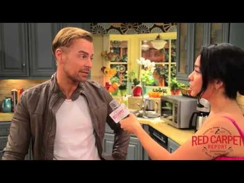 Joey Lawrence on set with Melissa & Joey for their 100th Episode #ABCFamily #MelissaandJoey