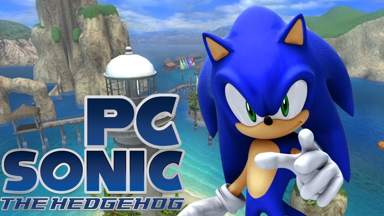 Sonic The Hedgehog 2006 Pc Version Wave Ocean Gameplay Youtube