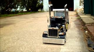 RC Peterbilt Hauling Sand and Yard Waste