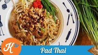 Resep Mie Thailand Pad Thai (Pad Thai Noodle Recipe Video) | PUTRI MIRANTI & ARIMBI NIMPUNO