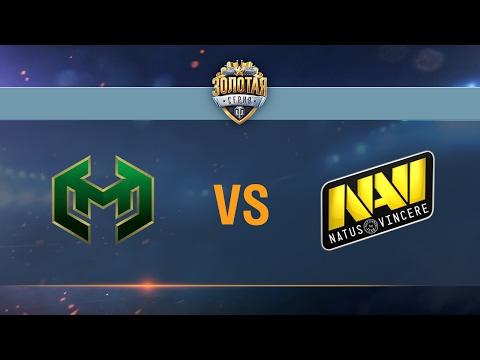 Carpe Diem vs Natus Vincere - day 1 week 5 Season II Gold Series WGL RU 2016/17