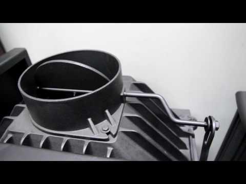 Угловая топка для камина Kratki Maja L/BS 12 кВт обзор отзывы характеристики топки Kratki Maja