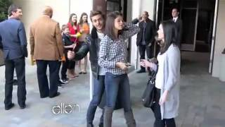 Zac Efron and Taylor Swift Ellen's Dance Dare