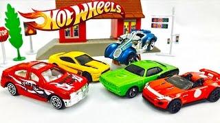 Carros Hot Wheels para Niños - Coches de Colores - Carros de Aventuras