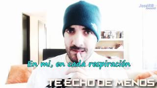 Te Echo de Menos | Alvaro HM | (letra)