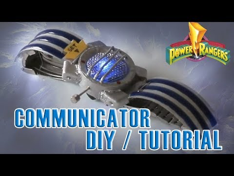 Power Rangers Communicator / Tutorial DIY