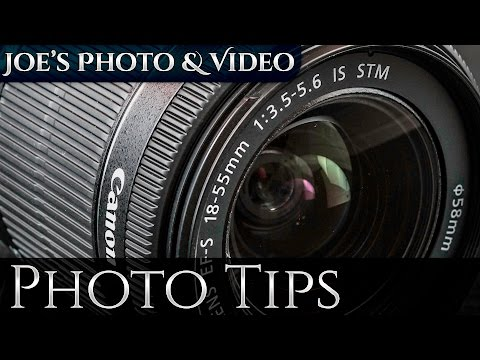 What Do Those Numbers On My Camera Lens Mean | Photography Tips