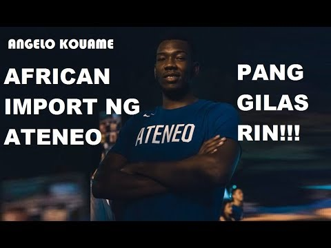 "Ateneo's 6'10"" African Center is Gilas Pilipinas Naturalized Player Prospect"