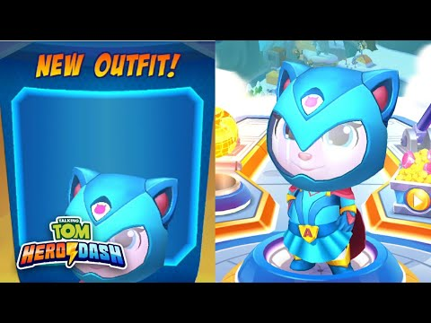 Super Angela New Outfit - Talking Tom Hero Dash