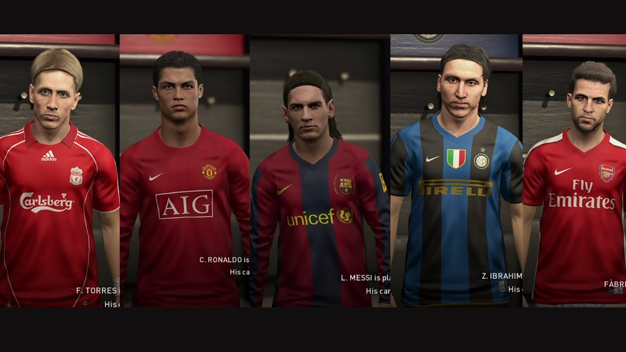 PES 2019 | NEW CLASSIC PLAYERS & TEAMS
