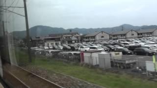 JR日豊本線 車窓 行橋駅~小倉駅(883系0番台特急ソニック)130km/h運転!