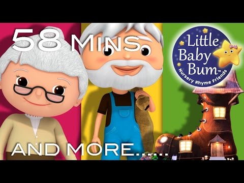Old Woman Who Lived In A Shoe | Plus Lots More Nursery Rhymes | 58 Minutes from LittleBabyBum!