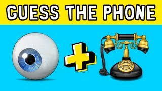 ONLY GENIUS CAN GUESS THE WORD BY THE EMOJIS | EMOJI PUZZLE CH…