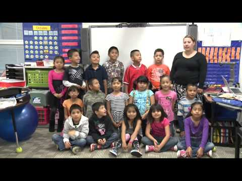 School Shout Out Glacier Edge Elementary School AM 11-26-13