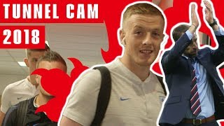 Player Arrivals, Silky Skills & High Spirits | Tunnel Cam 2018