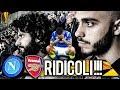😱ridicoli!!! Napoli 0-1 Arsenal | Live Reaction San Paolo Napoletani 4k