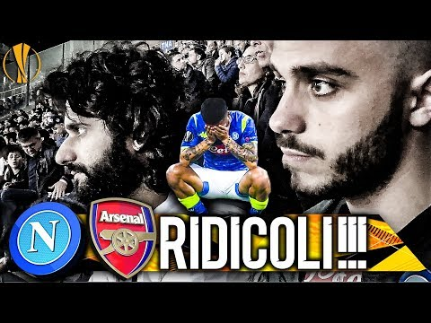 😱RIDICOLI!!! NAPOLI 0-1 ARSENAL | LIVE REACTION SAN PAOLO NAPOLETANI 4K