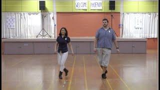 Strawberry Smile Line Dance - Demo And Walk Through