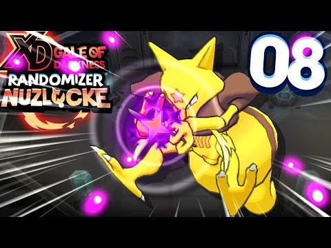 ULTIMATE COSMIC POWER! (POKEMON XD GALE OF DARKNESS RANDOMIZER NUZLOCKE #08)